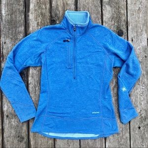 Patagonia R1 1/4 zip pull-over